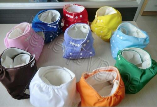 New INSERTS Adjustable Reusable Lot Baby Cloth Diaper Nappies