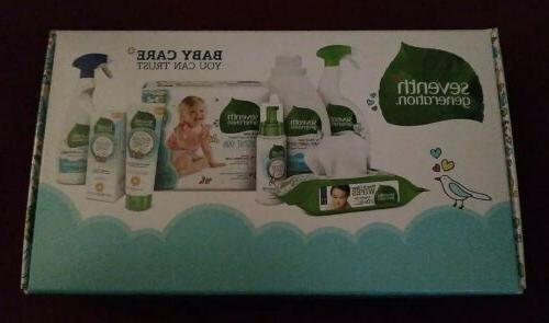 New Seventh Box Diapers Wipes & Trial Baby Care