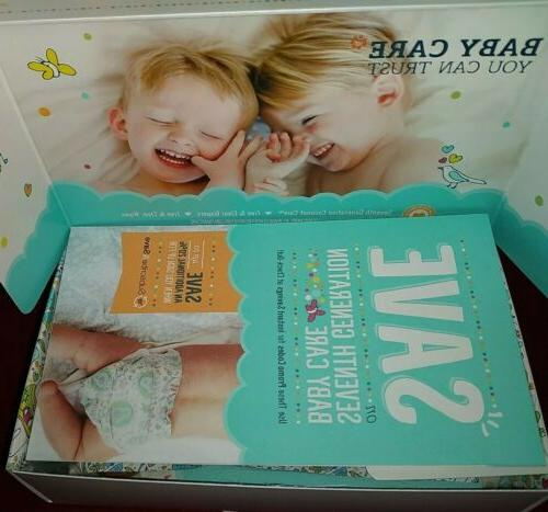New Seventh Box 2 Wipes & Lotion Trial Baby