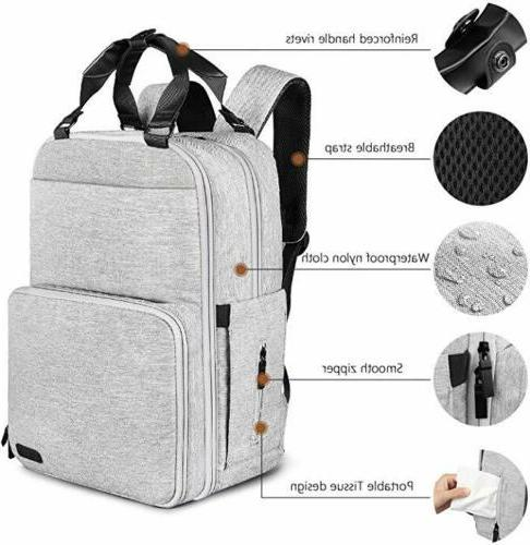ONSON New Diaper Backpack Baby Pack Pockets