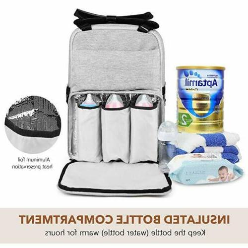 ONSON New Backpack Baby Travel Pack Mummy Pockets