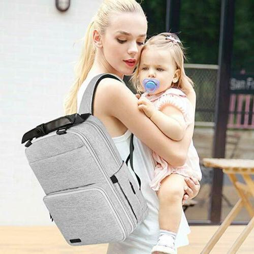 new diaper bag backpack baby travel large