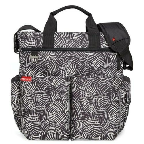 new duo signature messenger bag diaper baby