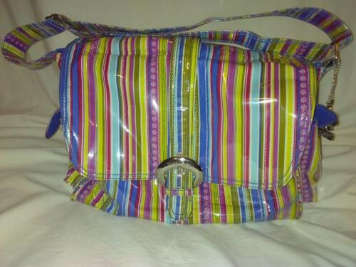new orleans laminated diaper bag with accessories