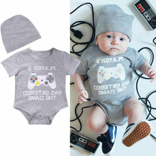 Lots Newborn Girl Letter Bodysuit Outfits