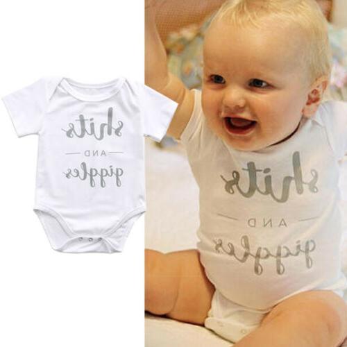 Lots Newborn Baby Girl Bodysuit Jumpsuit Outfits