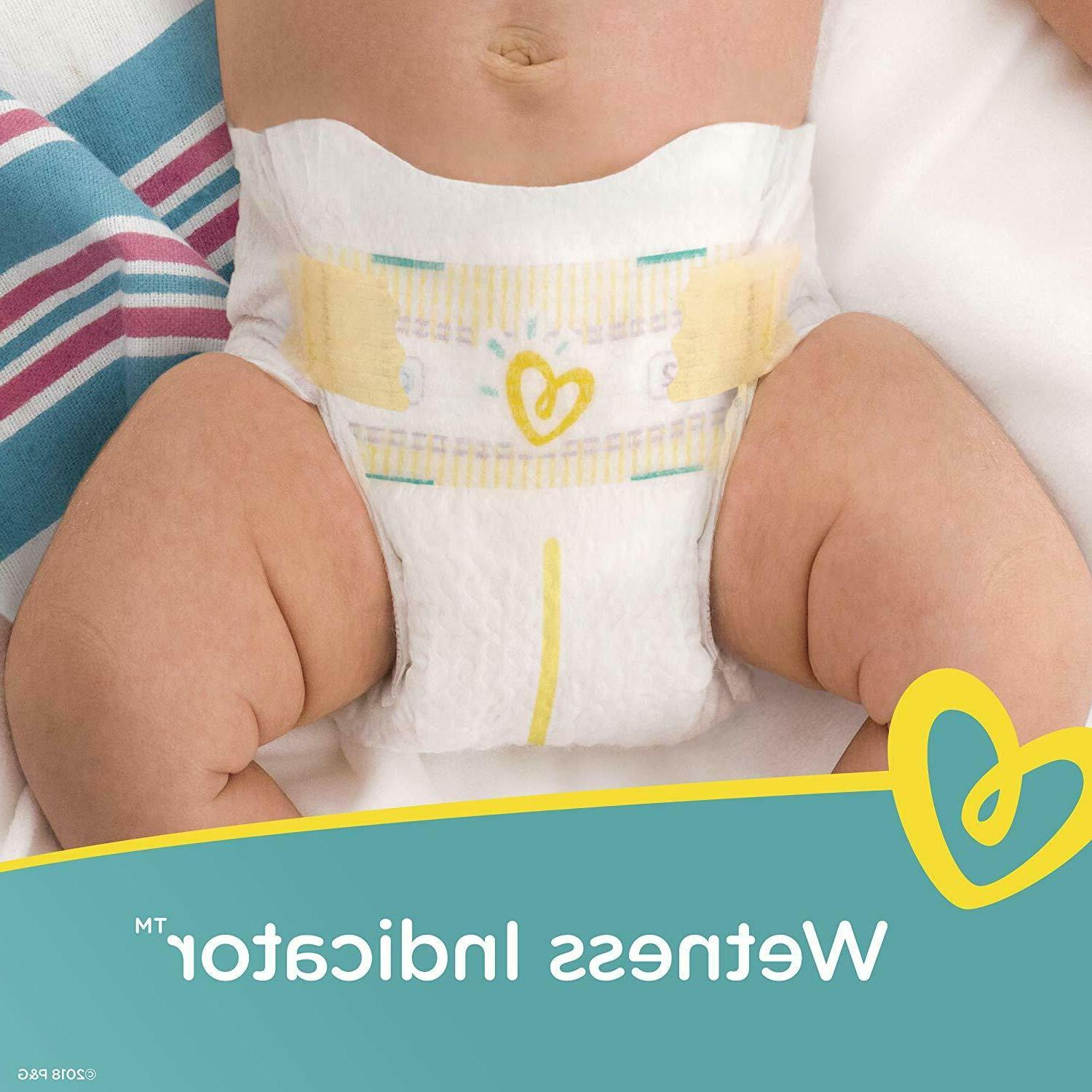 Pampers Count Swaddlers Disposable Diaper Dry