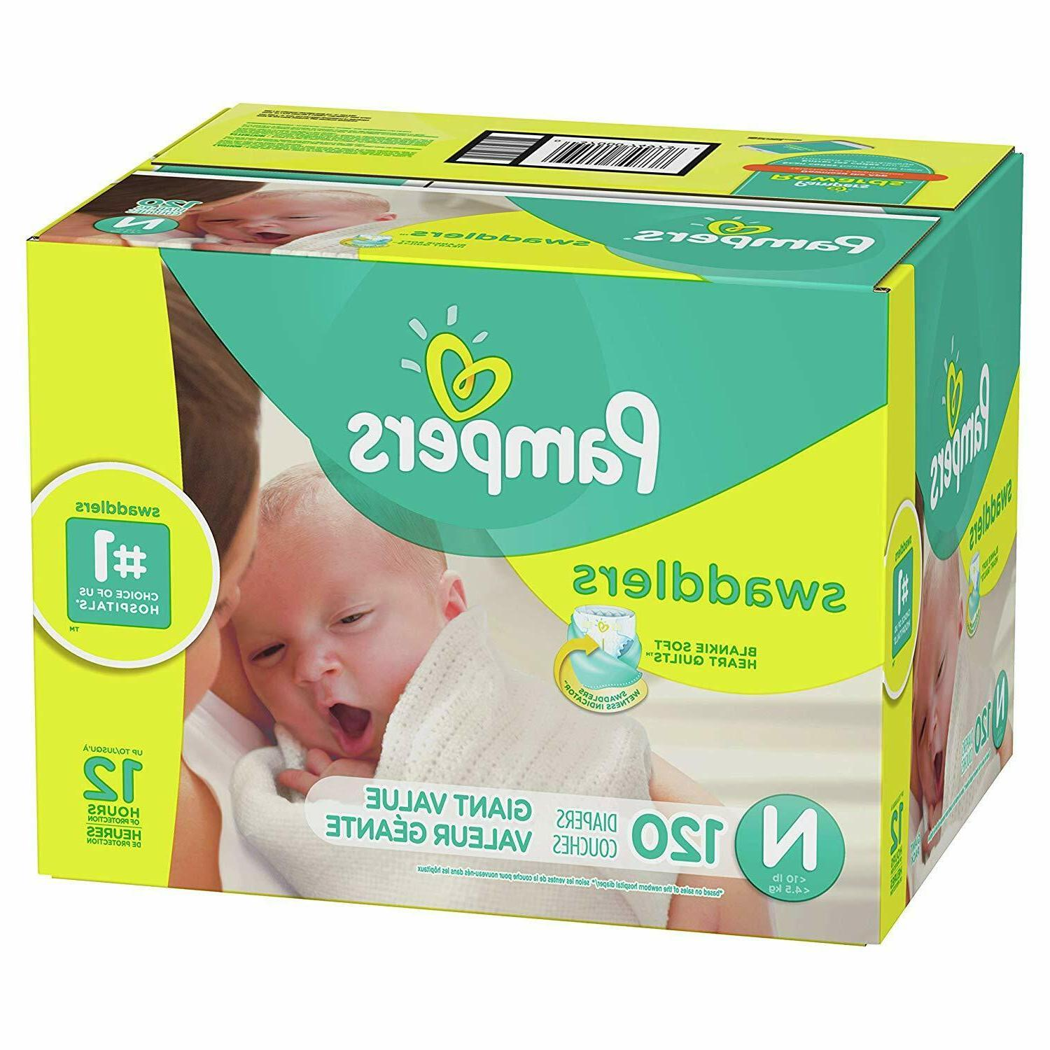 Pampers Count Disposable Diaper