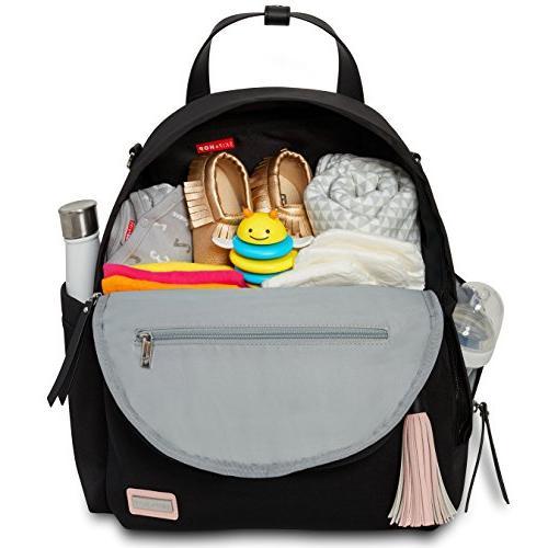 Skip Hop Diaper Backpack Matching Changing Pad, Nolita