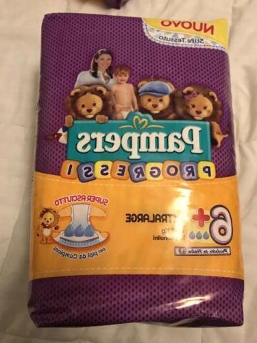 non vintage progressi size 6 diapers 31