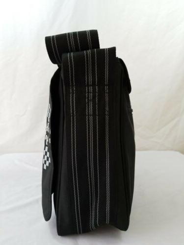NWOT Lassig Diaper Large Messenger Shoulder Black Fawn