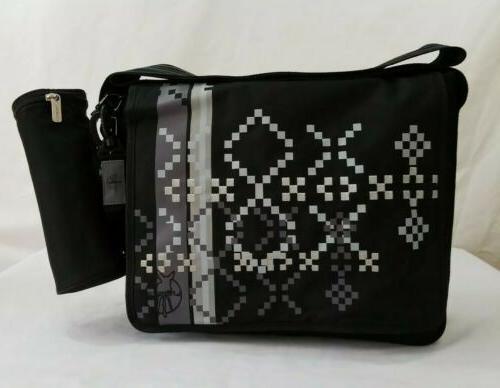 nwot diaper baby large messenger shoulder bag