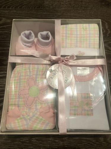 nwt 4 pc baby girl gift set