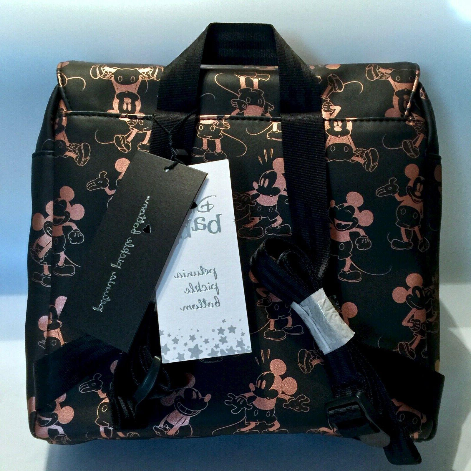 NWT! Petunia Pickle Disney Mickey Mouse Boxy Mini Backpack