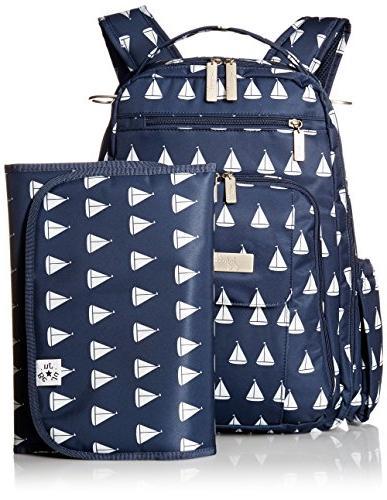 JuJuBe Be Multi-Functional Backpack/Diaper Bag, Coastal -