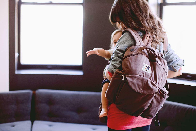 Ergobaby Travel Pack, Diaper Chocolate *NIB*