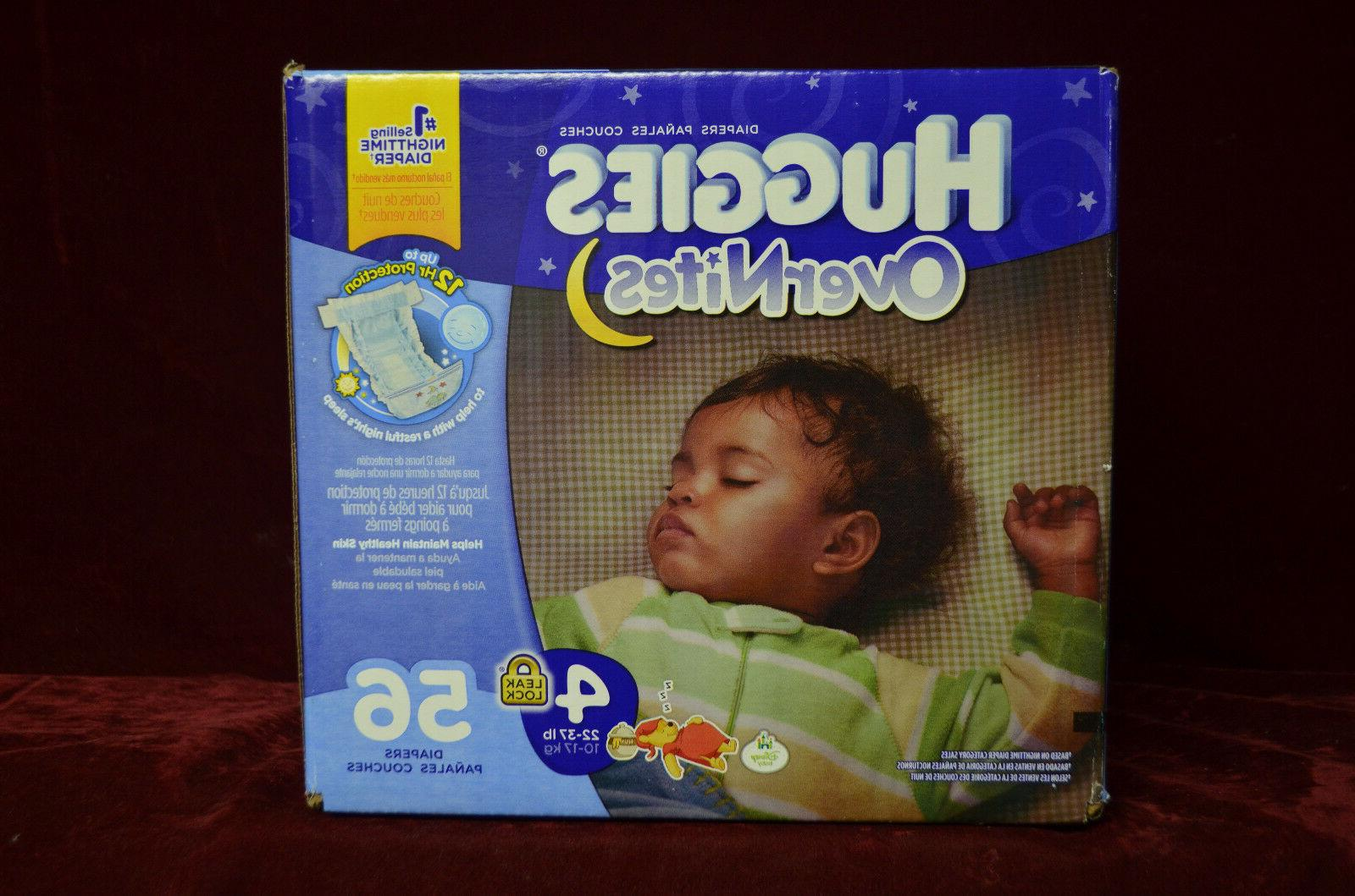 overnites diapers size 4 56 count leak