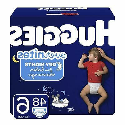 overnites diapers size 6 48 ct overnight