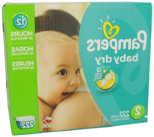 Pampers 2 Diapers Plus Pack Count -