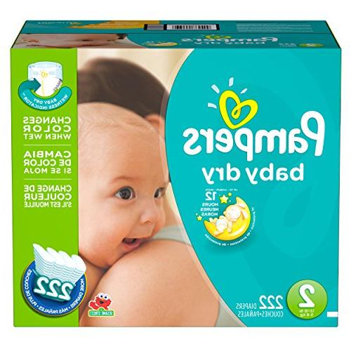 Pampers Dry Size 2 Plus Pack - -