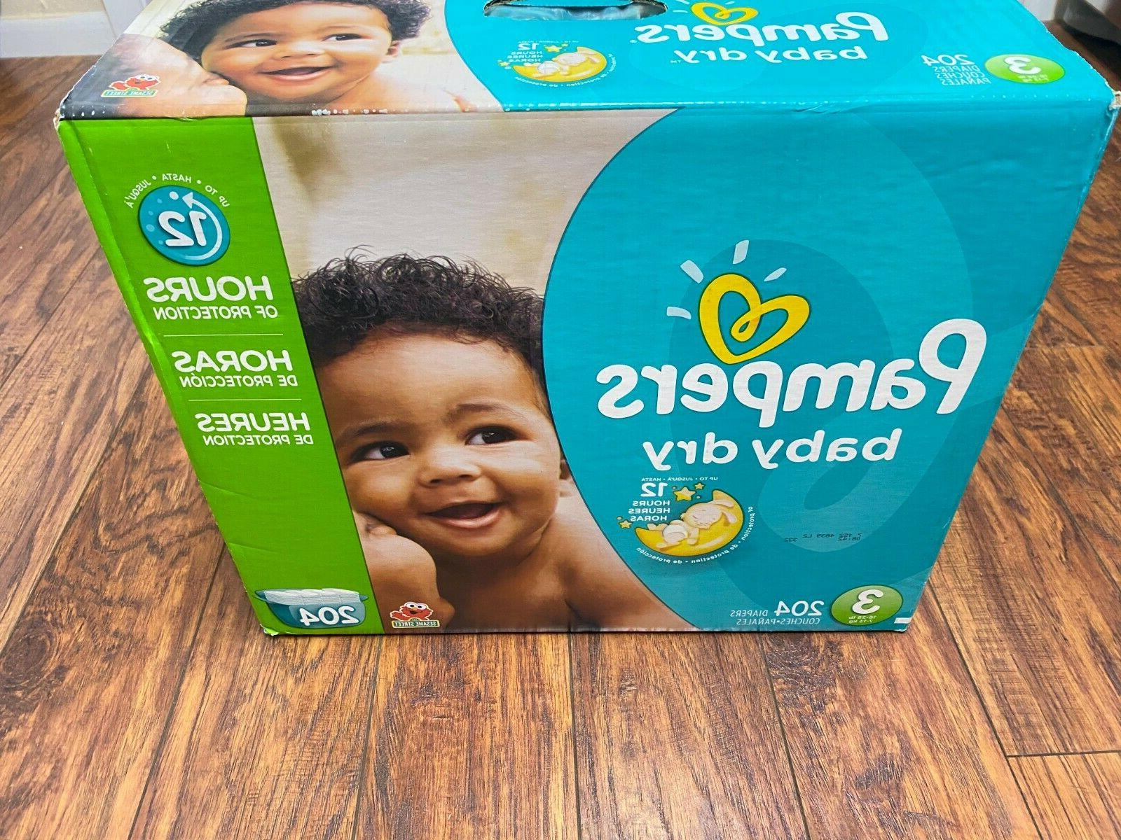pampers dry 3 diapers economy