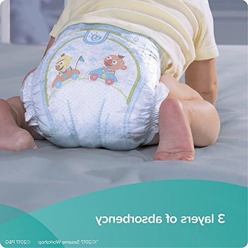 Pampers Baby Dry Size 37 Sensitive Wipes Travel ct