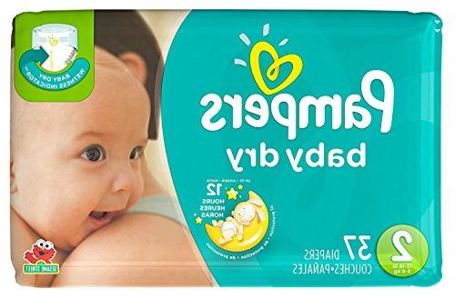 Pampers 2 37 Sensitive Wipes Pack ct