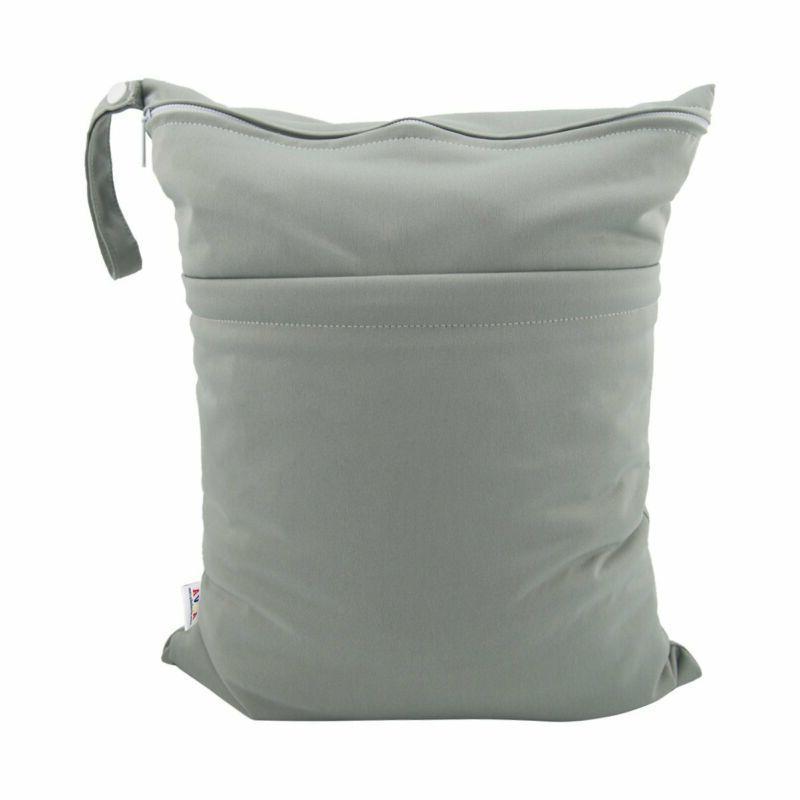 pañales tela bolsas húmedas dos bolsillos con cremallera