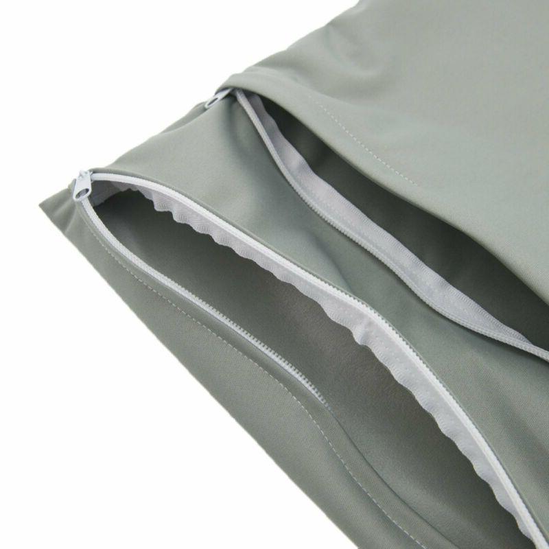 pañal tela bolsas dos cremalleras