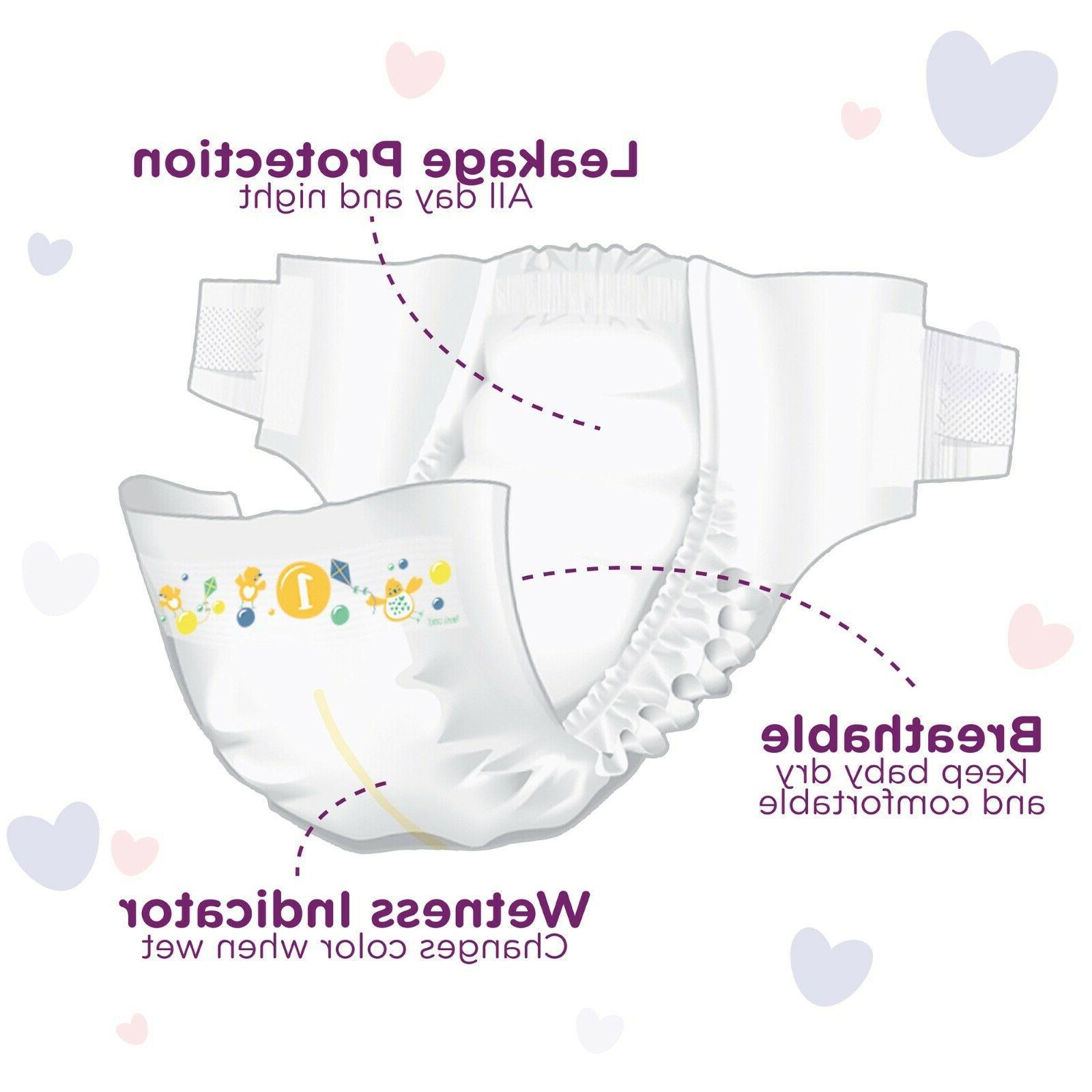 Parent's Gentle Baby Diapers 1-6, Count up 336