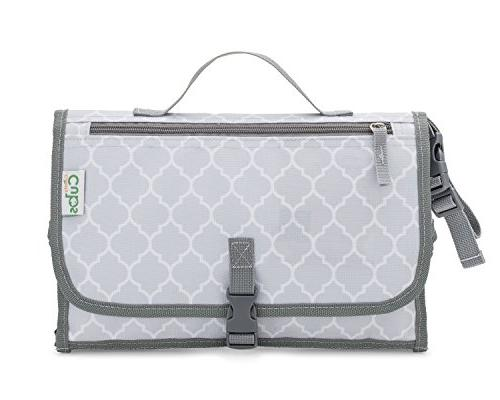 Baby Portable Changing Pad, Diaper Bag, Travel Changing Mat Station,