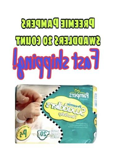 preemie diapers swaddlers 20 count up to