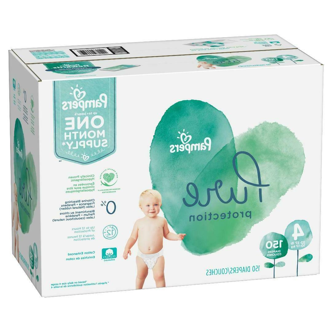 pure protection disposable diapers size 4 22