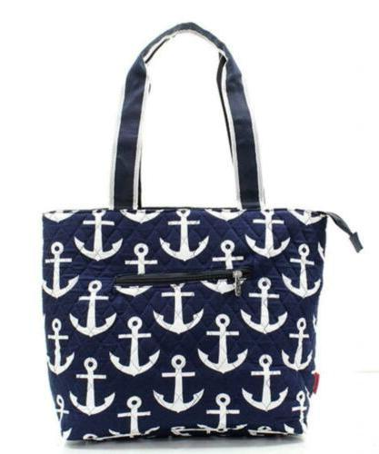 Nautical Anchor Print Monogrammable 3 Piece...