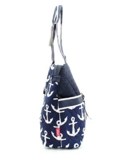 Quilted Navy Nautical Monogrammable