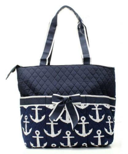 Quilted And Nautical Monogrammable