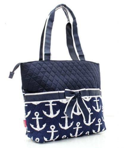 Quilted Navy And Nautical
