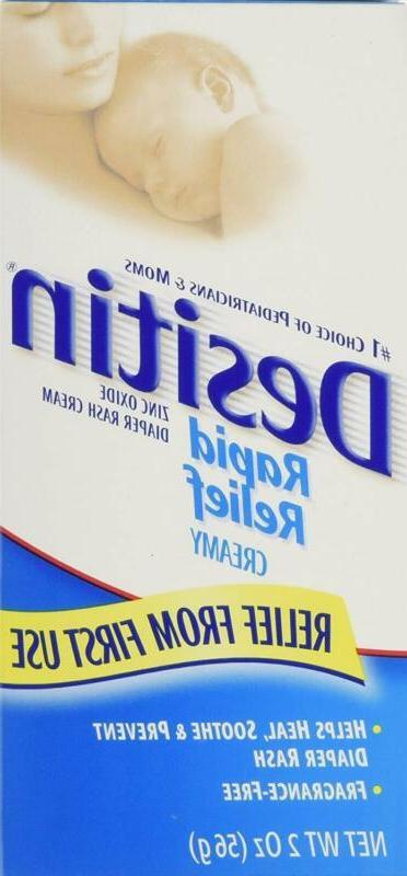 Desitin Rapid Creamy Zinc Oxide Cream