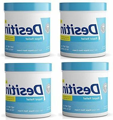 Desitin Rapid Relief Diaper Rash Remedy, Fragrance-Free Crea