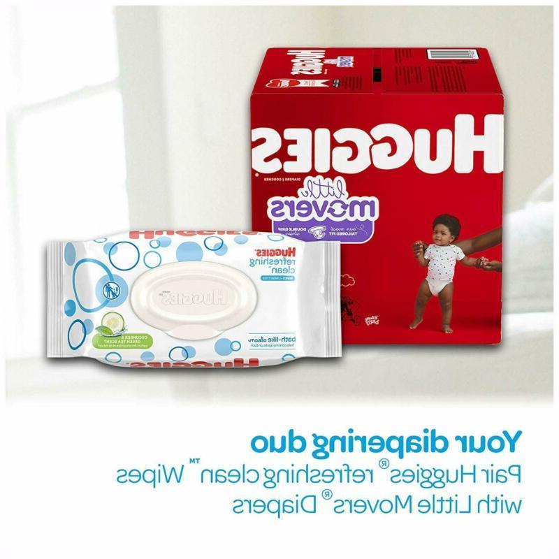 HUGGIES Baby 10 Flip-top Packs,