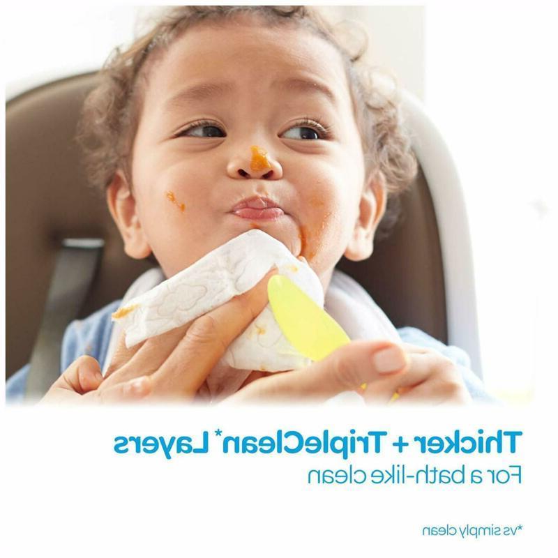 HUGGIES Refreshing Baby Hypoallergenic, 10 Flip-top Packs,