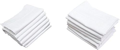 BABY DIAPERS BURP CLOTHS in. Washable 4-Ply Prefold 12-Pack