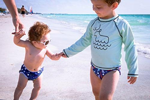 Nageuret Swim Adjustable & Fits Diapers Sizes N-5 Premium Baby & Swimming Lessons