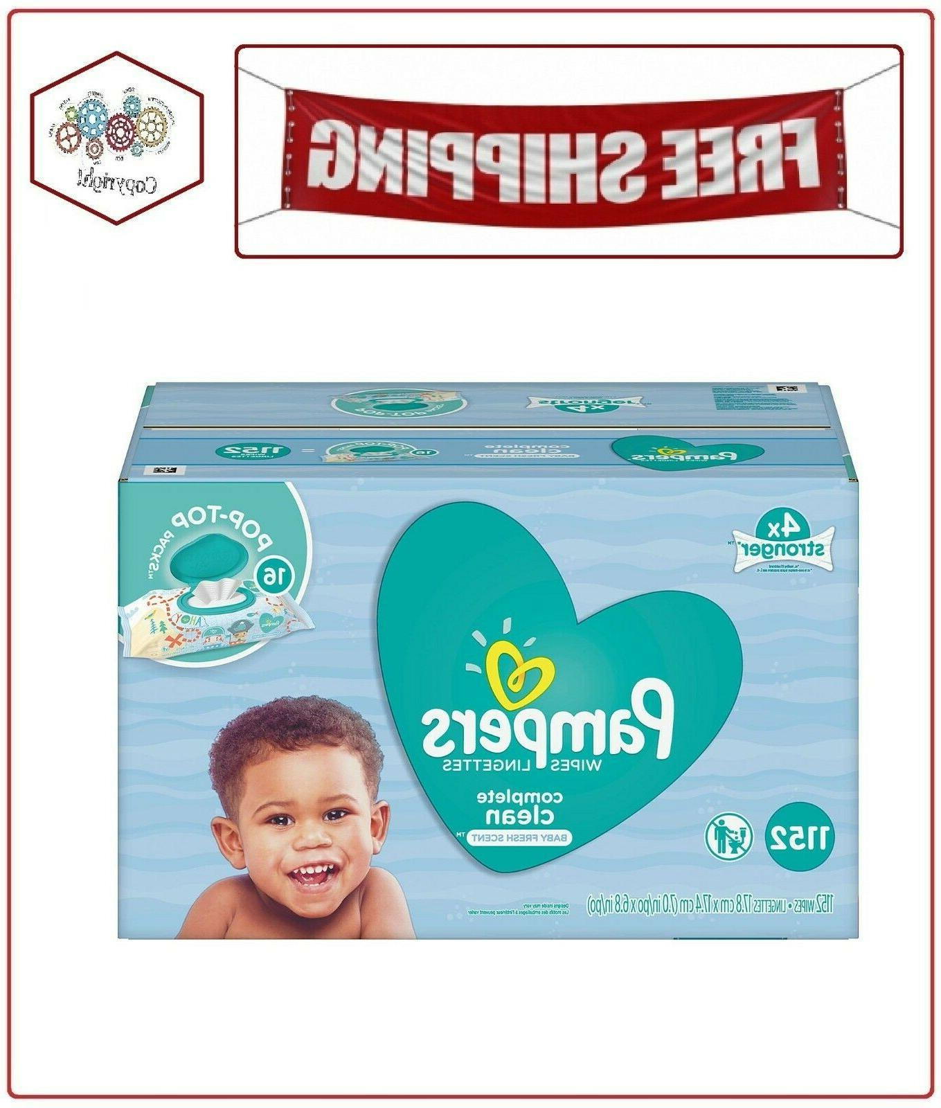 scented baby wipes complete clean 1152 ct