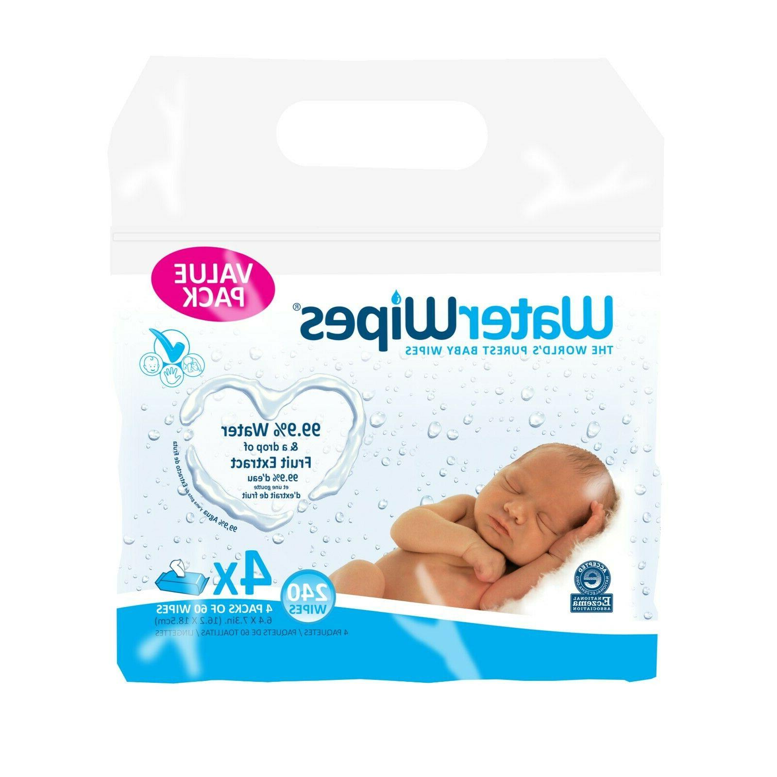 sensitive baby wipes unscented 240 count 4