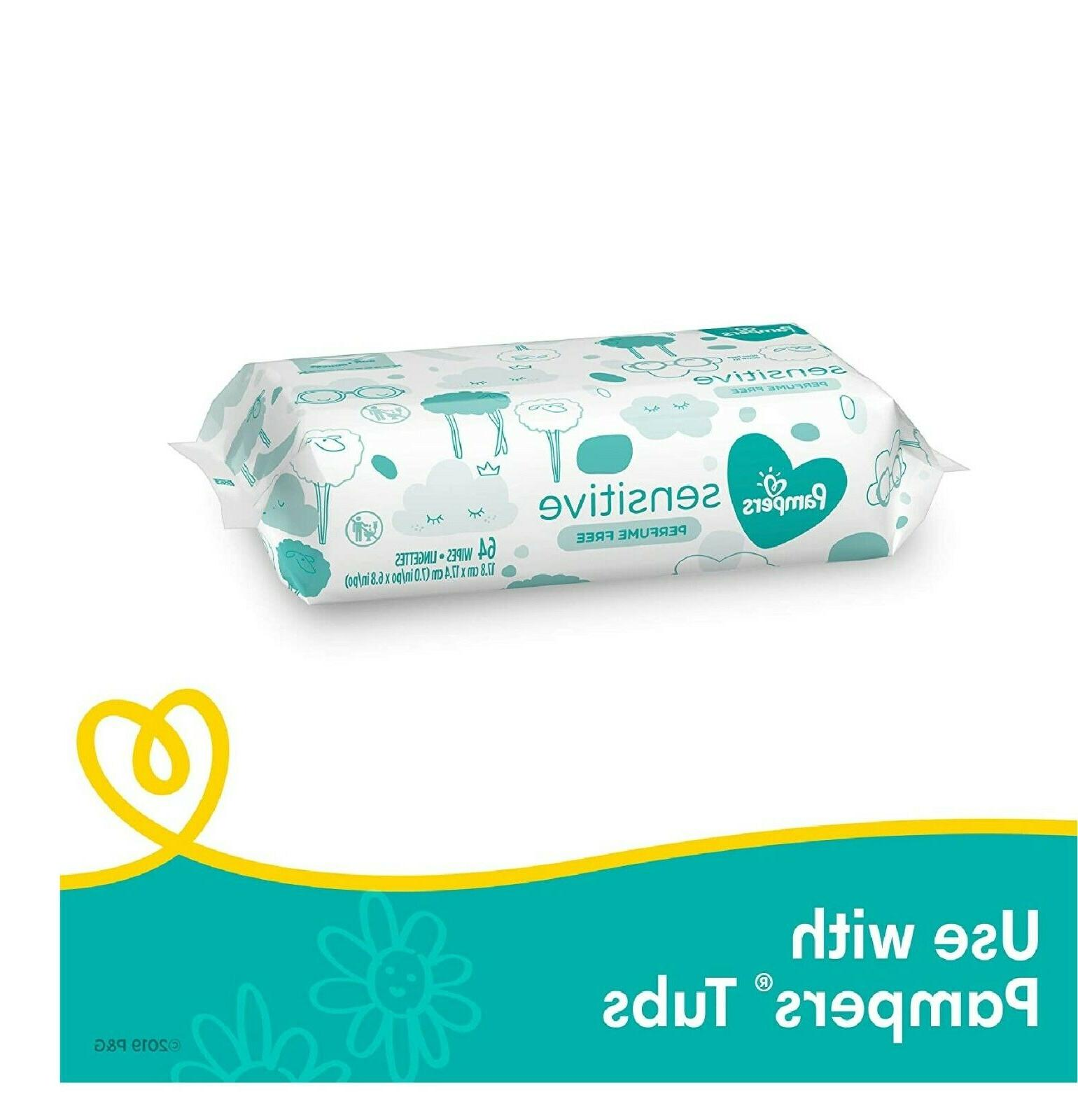 Pampers Baby Unscented, Count