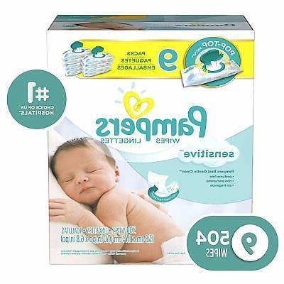 sensitive water based diaper wipes