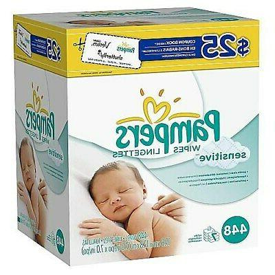Pampers Wipes 448/Count 1124056