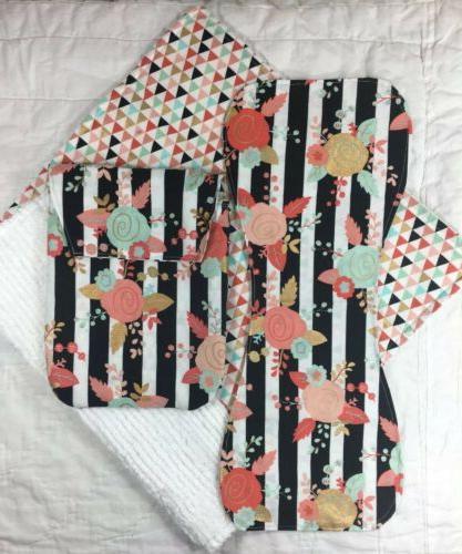 set diaper clutch brup cloth changing pad