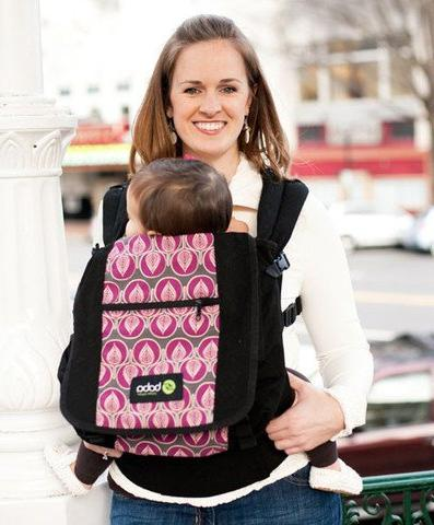 Boba Pack Shoulder Diaper Bag Can Attach to New 3g and 4g Carriers Lila